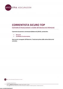 Amissima - Correntista Sicuro Top - Modello 47004-161ba Edizione 01-2019 [7P]