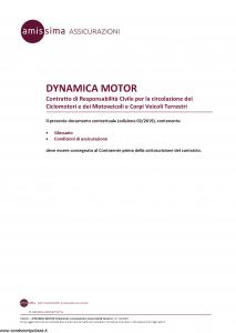 Amissima - Dynamica Motor - Modello ara005 Edizione 02-2019 [38P]