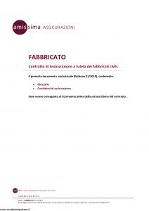 Amissima - Fabbricato - Modello 34501 Edizione 01-2019 [26P]