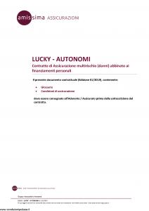 Amissima - Lucky Autonomi - Modello 43609 Edizione 01-2019 [14P]