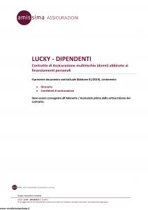 Amissima - Lucky Dipendenti - Modello 43509 Edizione 01-2019 [14P]