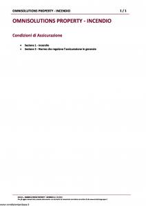 Amissima - Omnisolutions Property Incendio - Modello 60023a Edizione 01-2019 [27P]
