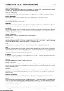 Amissima - Omnisolutions Salute Infortuni E Malattie - Modello 60024c Edizione 01-2019 [62P]