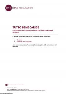 Amissima - Tutto Bene Carige - Modello 34301-225ba Edizione 01-2019 [14P]