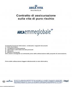 Arca Vita - Arcaemmeglobale Sp - Modello nd Edizione 31-05-2012 [32P]