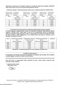 Arca Vita - Investidoc Special Reinvestimento - Modello nd Edizione 27-08-2010 [35P]