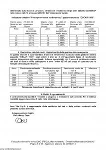 Arca Vita - Investidoc Special Reinvestimento - Modello nd Edizione 30-09-2010 [35P]