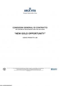 Arca Vita - New Gold Opportunity - Modello nd Edizione nd [46P]