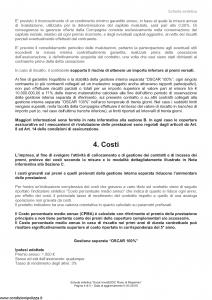 Arca Vita - Oscar Investidoc Piano Di Risparmio - Modello nd Edizione 01-01-2016 [44P]