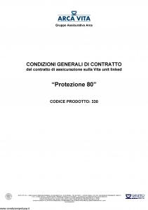 Arca Vita - Protezione 80 - Modello nd Edizione nd [59P]