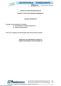 Assimoco - Autotutela Conducente Nominativa - Modello d-infcond-v-cg-02 Edizione 04-2013 [15P]