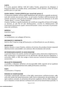 Assimoco - Autotutela - Modello a001-b-rca Edizione 01-2011 [66P]
