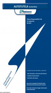 Assimoco - Autotutela - Modello a008-b Edizione 05-2013 [10P]