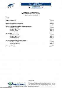 Assimoco - Casa Confort - Modello glb-003-1-cg-01 Edizione 12-2010 [21P]