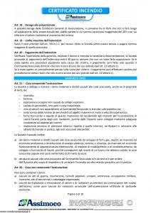 Assimoco - Certificato Incendio - Modello d-284-cg-01 Edizione 03-2012 [10P]