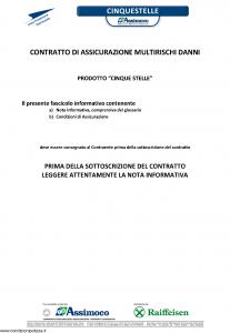 Assimoco - Cinque Stelle Raiffeisen - Modello alb Edizione 05-2014 [37P]