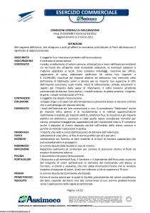 Assimoco - Esercizio Commerciale - Modello d-escomm-v-cg-91 Edizione 03-2012 [19P]