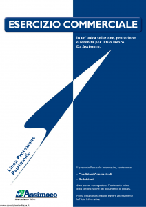 Assimoco - Esercizio Commerciale - Modello d-escomm-v-cg-91 Edizione 12-2010 [14P]