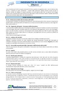 Assimoco - Indennita' Di Degenza - Modello d-373-cg-02 Edizione 01-2011 [6P]