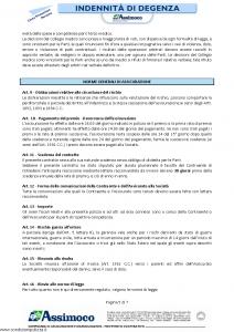Assimoco - Indennita' Di Degenza - Modello d-373-cg-03 Edizione 01-2013 [7P]