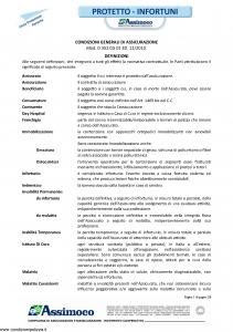 Assimoco - Protetto Infortuni - Modello d-352-cg-01 Edizione 12-2010 [28P]