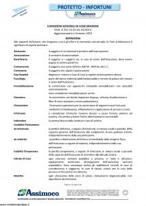 Assimoco - Protetto Infortuni - Modello d-352-cg-02 Edizione 01-2013 [28P]