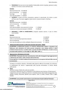 Assimoco - Rc Delle Professioni Liberali E Tecniche - Modello d-375-cg-01 Edizione 05-2016 [22P]