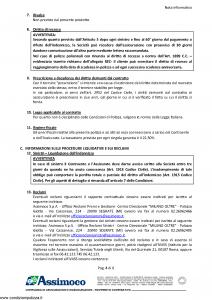 Assimoco - Rc Professionale Del Medico E Dell'Operatore Sanitario - Modello d-363-cg-01 Edizione 05-2014 [17P]