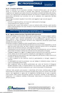 Assimoco - Rc Professionale - Modello d-363-cg-01 Edizione 02-2011 [9P]