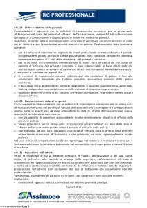 Assimoco - Rc Professionale - Modello d-375-cg-01 Edizione 01-2011 [13P]
