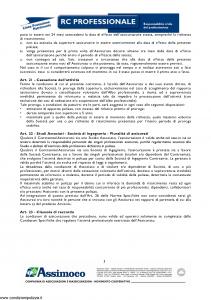 Assimoco - Rc Professionale - Modello d-375-cg-01 Edizione 06-2007 [11P]