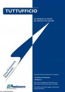 Assimoco - Tuttufficio - Modello d-ufficio-cg-01 Edizione 07-2006 [22P]