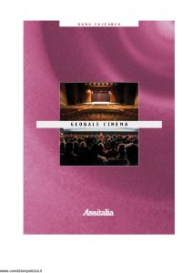 Assitalia - Globale Cinema Teatri - Modello 11031 Edizione 2001 [31P]