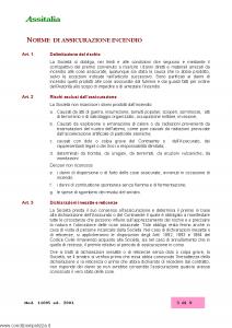 Assitalia - Granaglie E Semi Sullo Stelo Polizza Incendio - Modello 11005 Edizione 2001 [12P]
