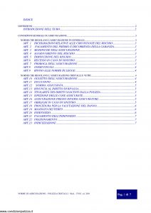 Assitalia - Polizza Cristalli - Modello 17002 Edizione 2001 [8P]