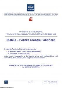 Assitalia - Stabile Polizza Globale Fabbricati - Modello 1722 Edizione 01-12-2010 [46P]