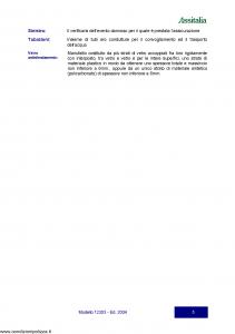 Assitalia - Sviluppo Italia Franchising - Modello 12303 Edizione 2004 [18P]