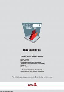Augusta - Augusta Index - Modello 1126 Edizione 06-2006 [44P]