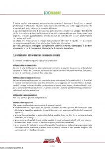 Augusta - Bene Valore Contratto Di Assicurazione Sulla Vita - Modello av1208af.310 Edizione 12-2009 [46P]
