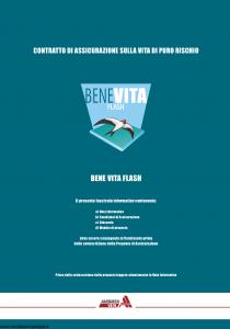 Augusta - Benevita Flash Contratto Di Assicurazione Sulla Vita Di Puro Rischio - Modello 1008 Edizione 01-12-2005 [24P]