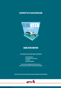 Augusta - Benevita Mutuo Contratto Di Assicurazione - Modello 1125 Edizione 30-04-2006 [30P]