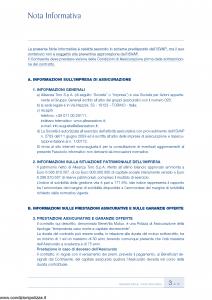 Augusta - Benevita Mutuo Contratto Di Assicurazione Sulla Vita Di Puro Rischio - Modello av1290age.011 Edizione 30-09-2011 [34P]