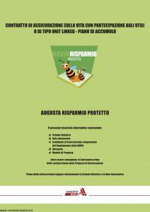 Augusta - Risparmio Protetto Contratto Di Assicurazione Sulla Vita - Modello 1142 Edizione 12-2007 [68P]