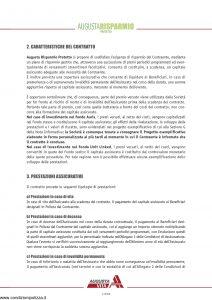 Augusta - Risparmio Protetto Contratto Di Assicurazione Sulla Vita - Modello av1160 Edizione 12-2008 [68P]