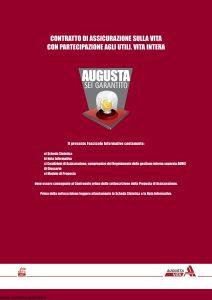 Augusta - Sei Garantito Contratto Di Assicurazione Sulla Vita - Modello av1269e.d10 Edizione 11-2010 [42P]