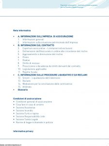 Aurora - 100% Impresa Contratto Assicurazione Piccola Media Impresa - Modello U3221A Edizione 03-2011 [90P]
