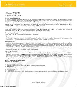 Aurora - Abita Aurora Infortuni - Modello U7611A5 Edizione 05-2005 [8P]