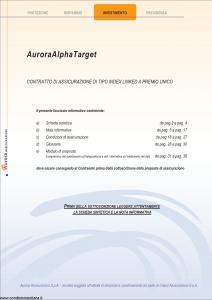 Aurora - Aurora Alpha Target - Modello 742 Edizione 05-2007 [37P]