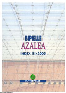 Aurora - Bipielle Azalea - Modello 727e Edizione 05-2005 [18P]