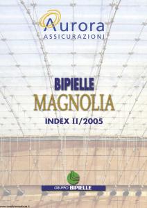 Aurora - Bipielle Magnolia - Modello 725e Edizione 05-2005 [22P]